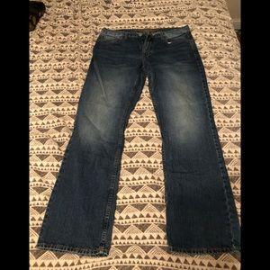 American Eagle men's boot cut jeans